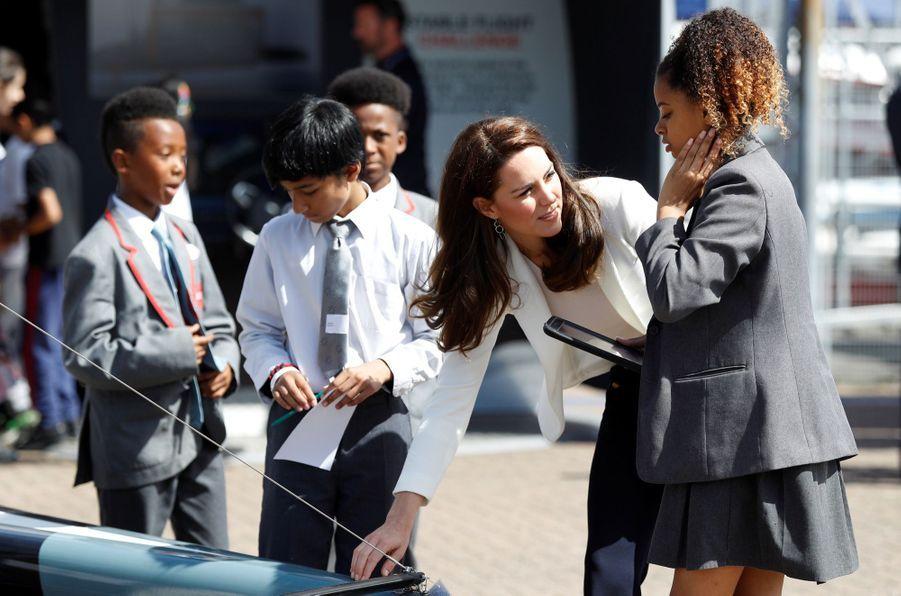 """Kate Middleton Avec Les Enfants Du """"1851 Trust"""", Vendredi 16 Juin À Londres 18"""
