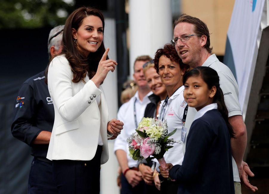 """Kate Middleton Avec Les Enfants Du """"1851 Trust"""", Vendredi 16 Juin À Londres 24"""