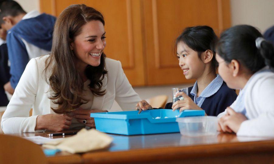 """Kate Middleton Avec Les Enfants Du """"1851 Trust"""", Vendredi 16 Juin À Londres 25"""