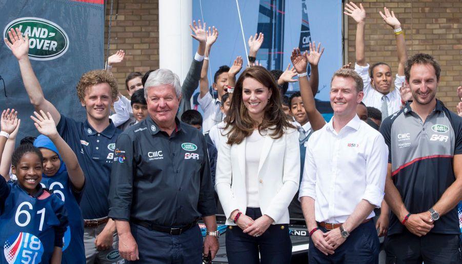 """Kate Middleton Avec Les Enfants Du """"1851 Trust"""", Vendredi 16 Juin À Londres 5"""