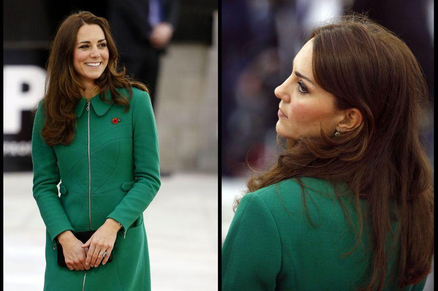 Kate charme les Néo-Zélandais