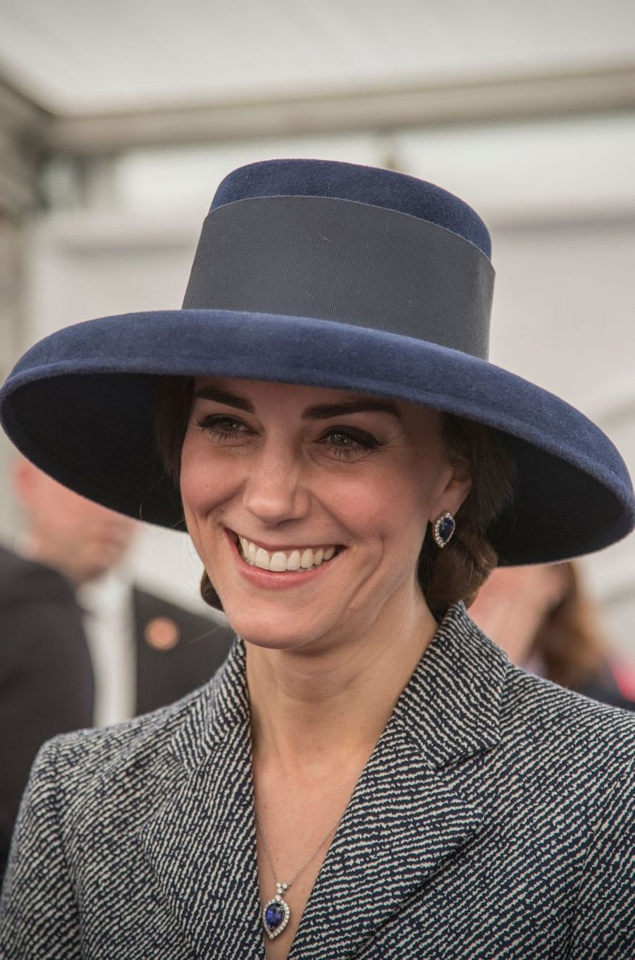La duchesse de Cambridge, née Kate Middleton, à Londres le 9 mars 2017