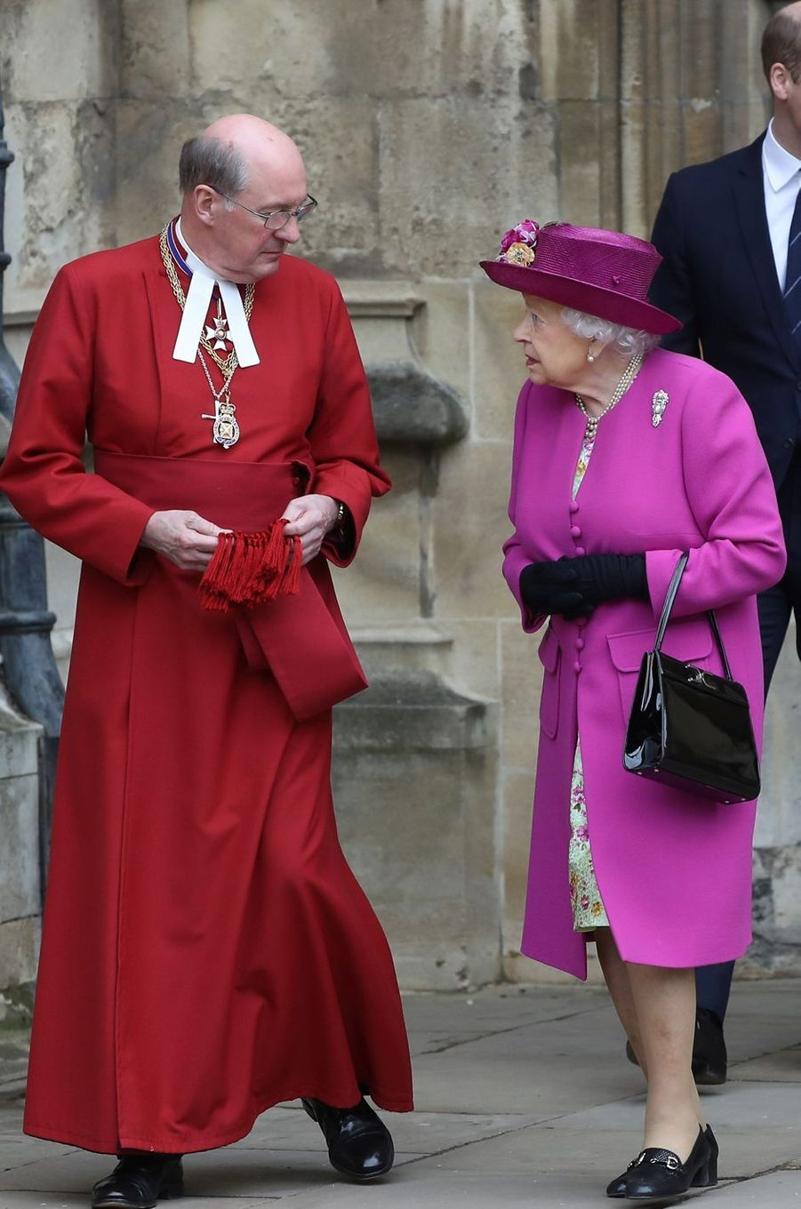 La reine Elizabeth II à Windsor, le 1er avril 2018