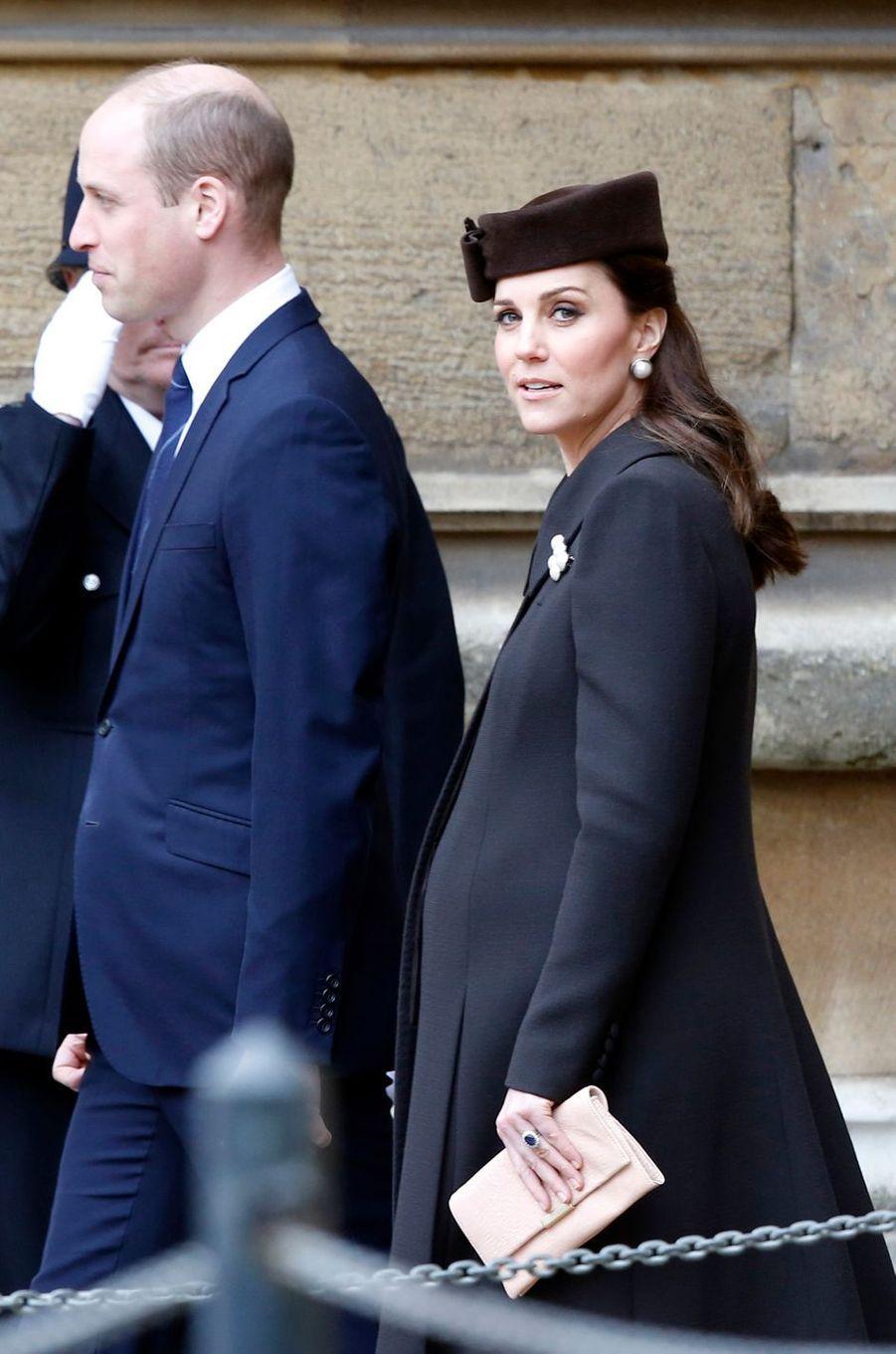 Kate Middleton à Windsor, le 1er avril 2018