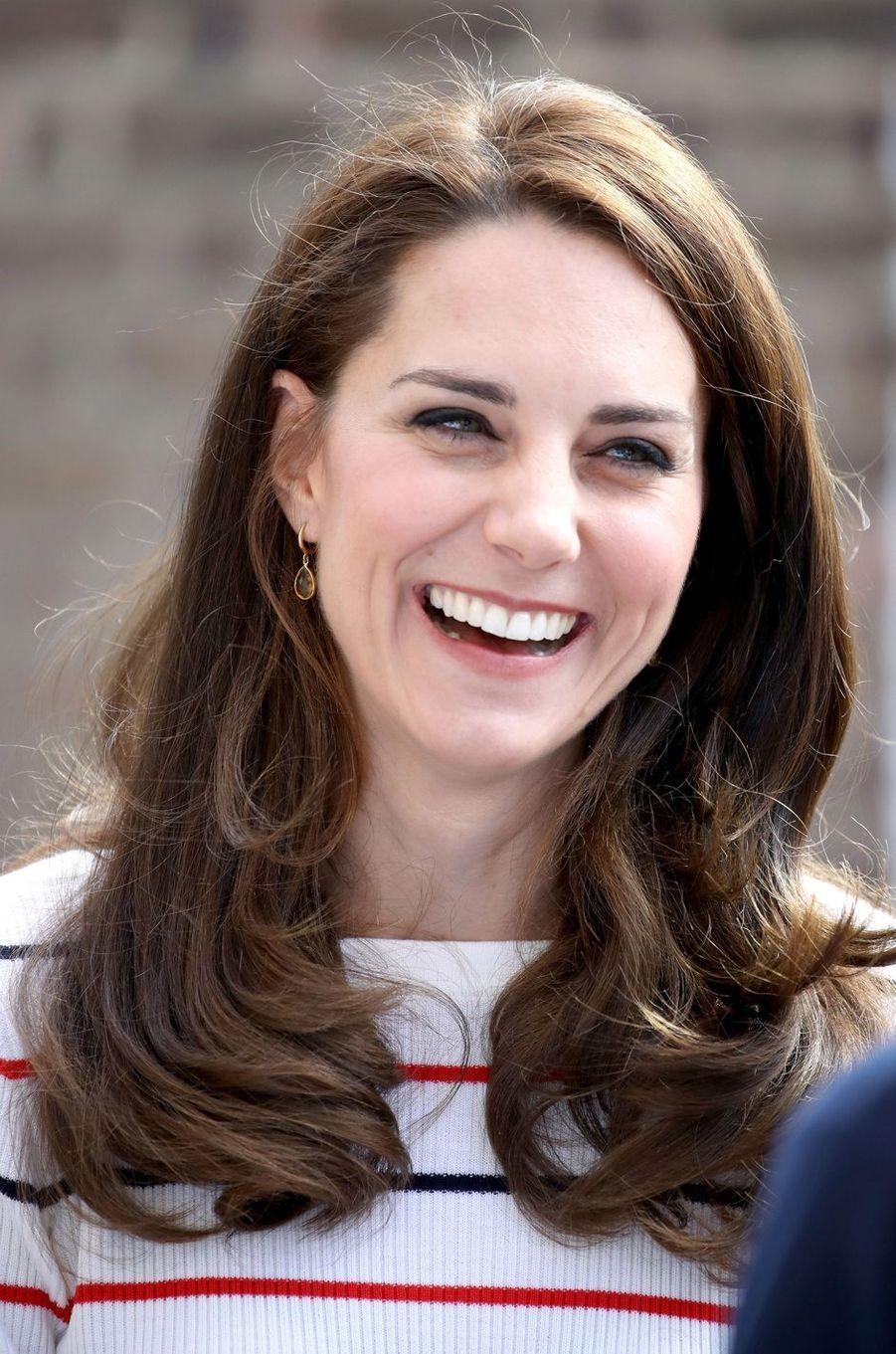 La duchesse de Cambridge à Londres, le 19 avril 2017