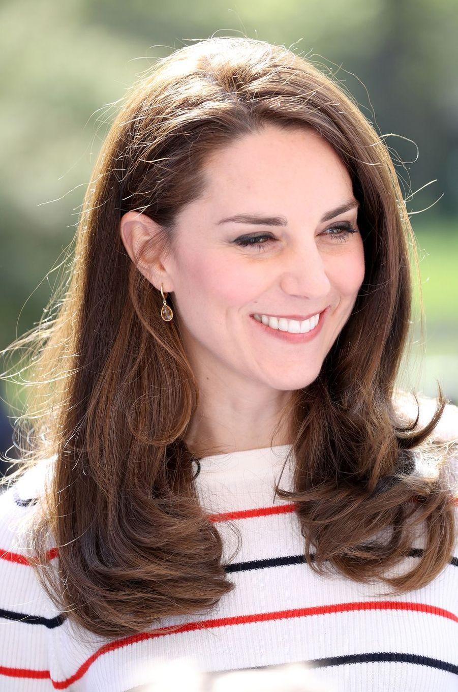 La duchesse de Cambridge, née Kate Middleton à Londres, le 19 avril 2017