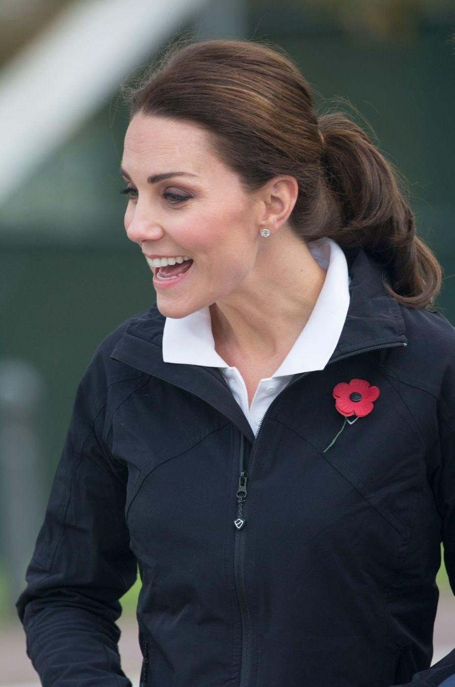 La duchesse de Cambridge à Londres, le 31 octobre 2017