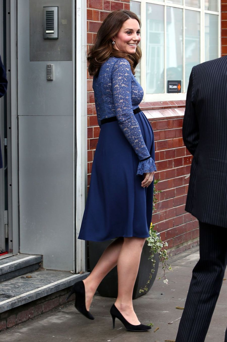 La duchesse Catherine de Cambridge à Londres, le 7 mars 2018