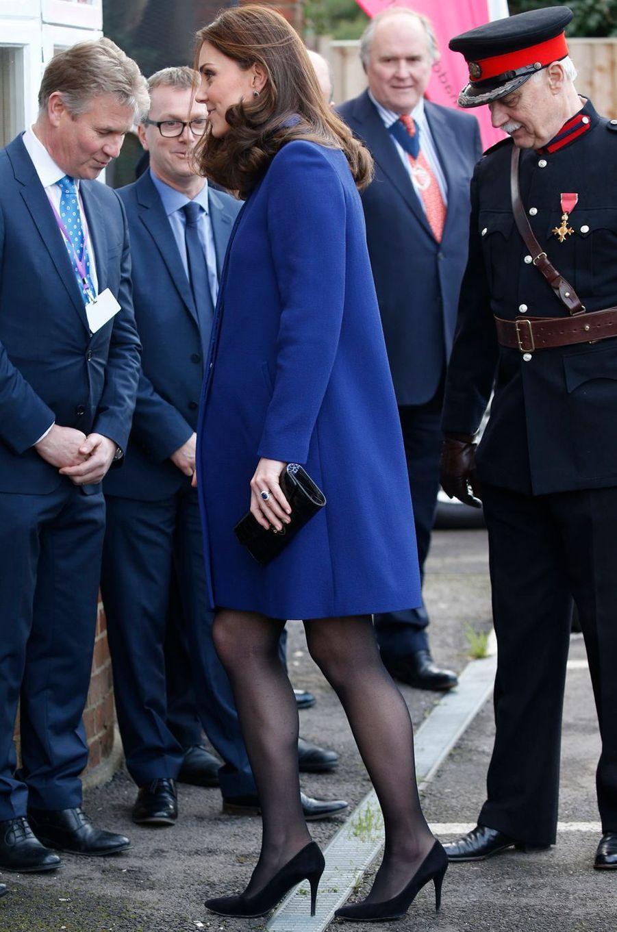 La duchesse Catherine de Cambridge en Goat à Wickford, le 7 février 2018