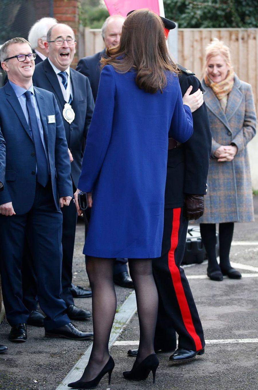 La duchesse Catherine de Cambridge à Wickford, le 7 février 2018