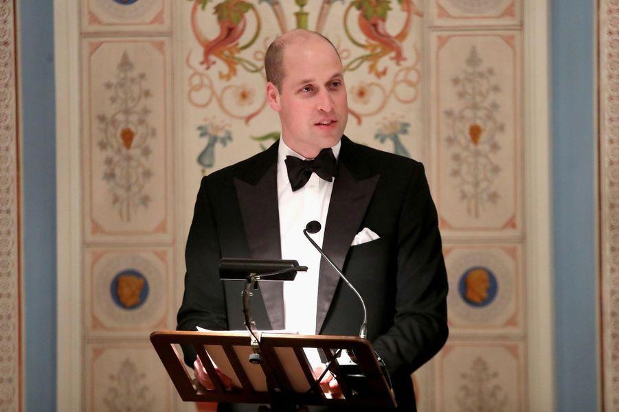 Le prince William à Oslo, le 1er février 2018