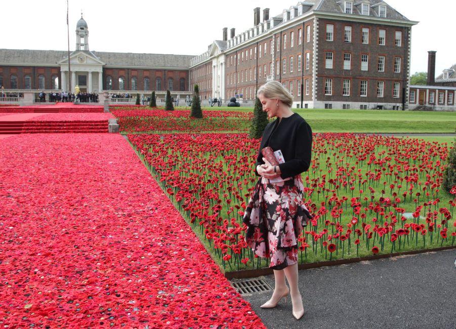 La comtesse Sophie de Wessex au Chelsea Flower Show.