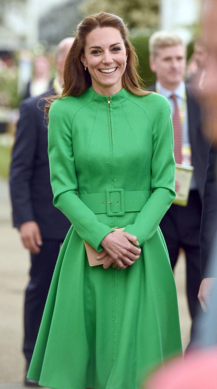 La duchesse de Cambridge au Chelsea Flower Show.