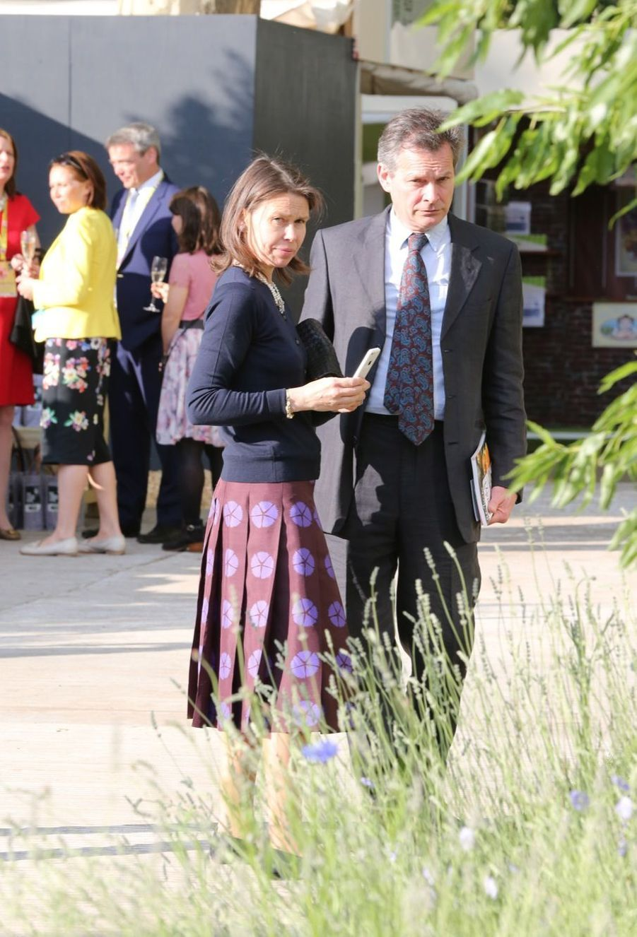Lady Sarah Chatto au Chelsea Flower Show.