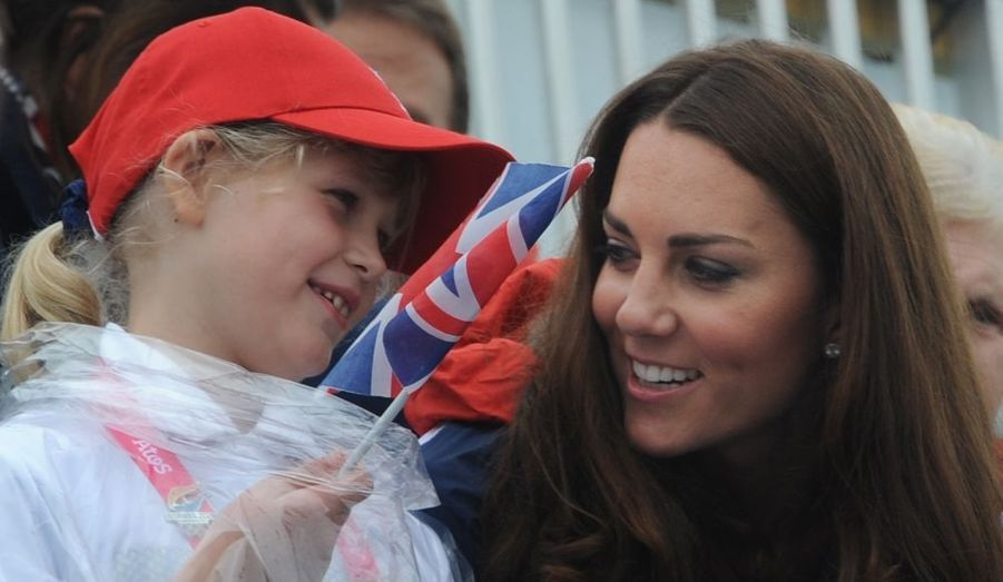 Kate, Lady Louise Windsor, et sa mère Sophie de Wessex étaient dans les tribunes pour encourager les équipes britanniques dans les compétitions d'aviron et athlétisme des Jeux Paralympiques.