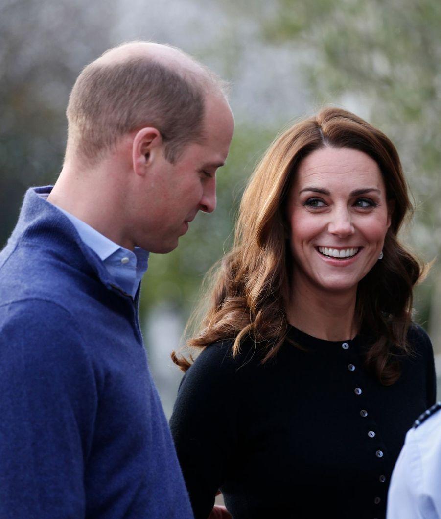 Le duc et la duchesse de Cambridge ont organisé une fête au palais de Kensington sur le thème de Noël.