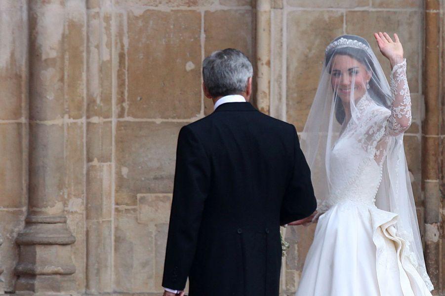 Kate Middleton le 29 avril 2011
