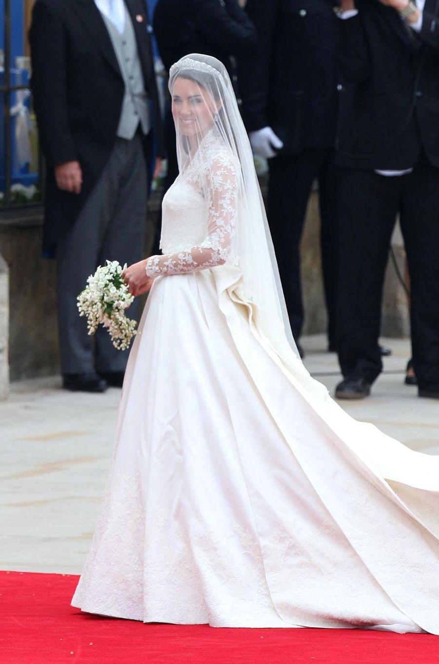Kate Middleton en Alexander McQueen le 29 avril 2011
