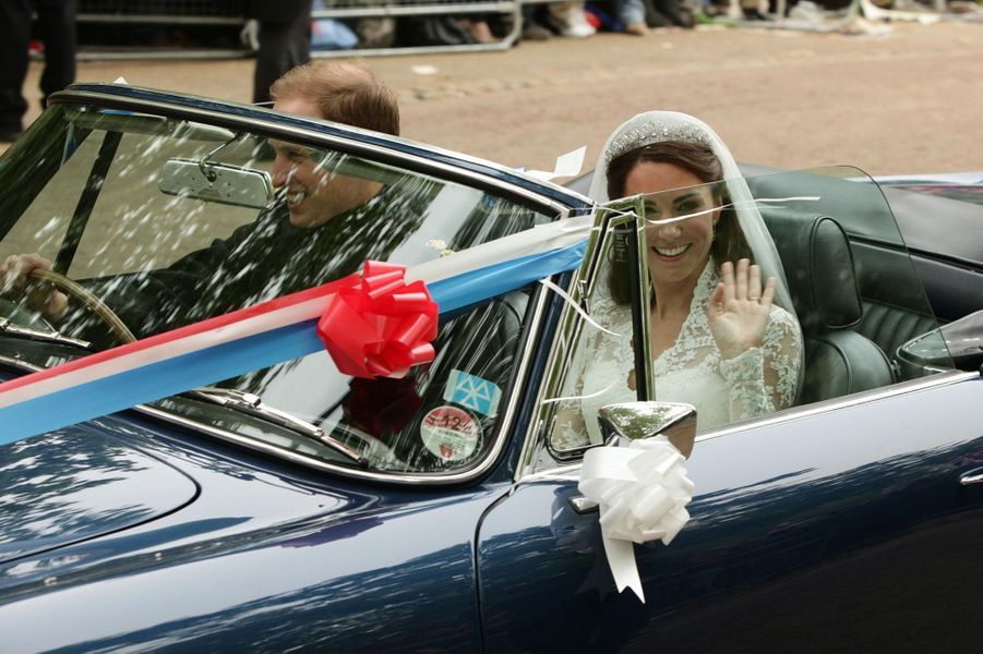 Kate Middleton le 29 avril 2011