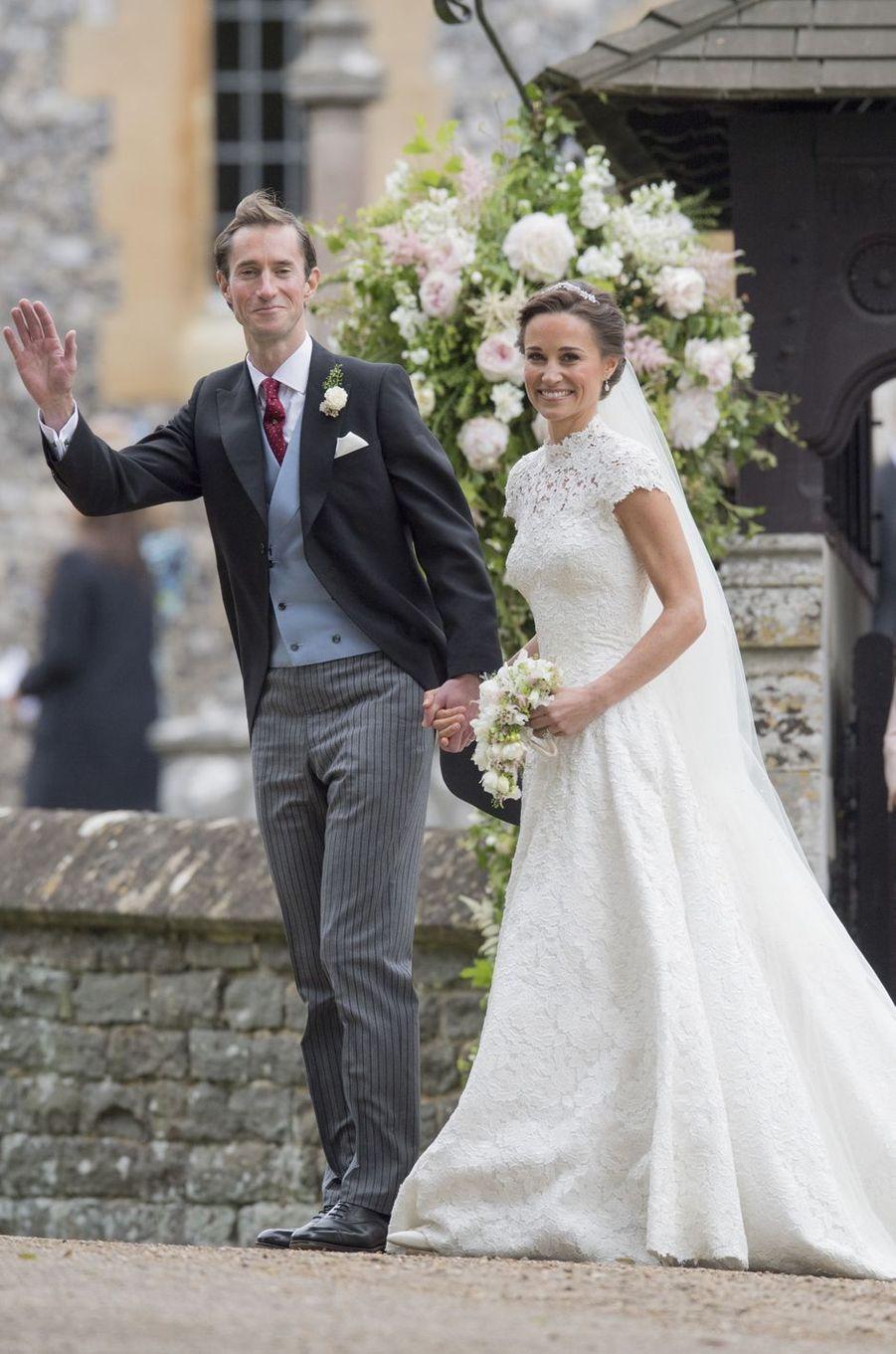 Pippa Middleton le 20 mai 2017