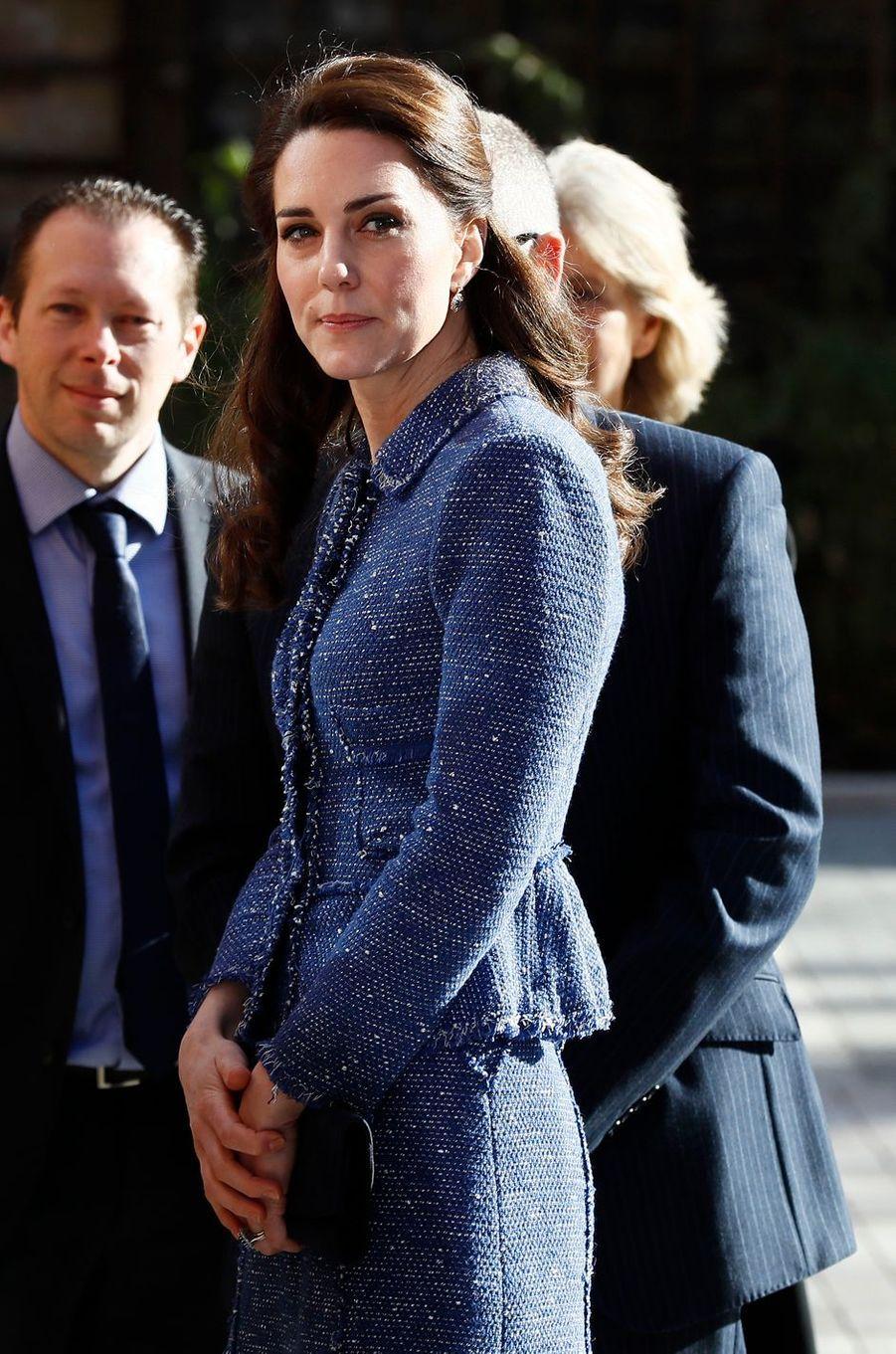 La duchesse de Cambridge née Kate Middleton à Londres le 28 février 2017
