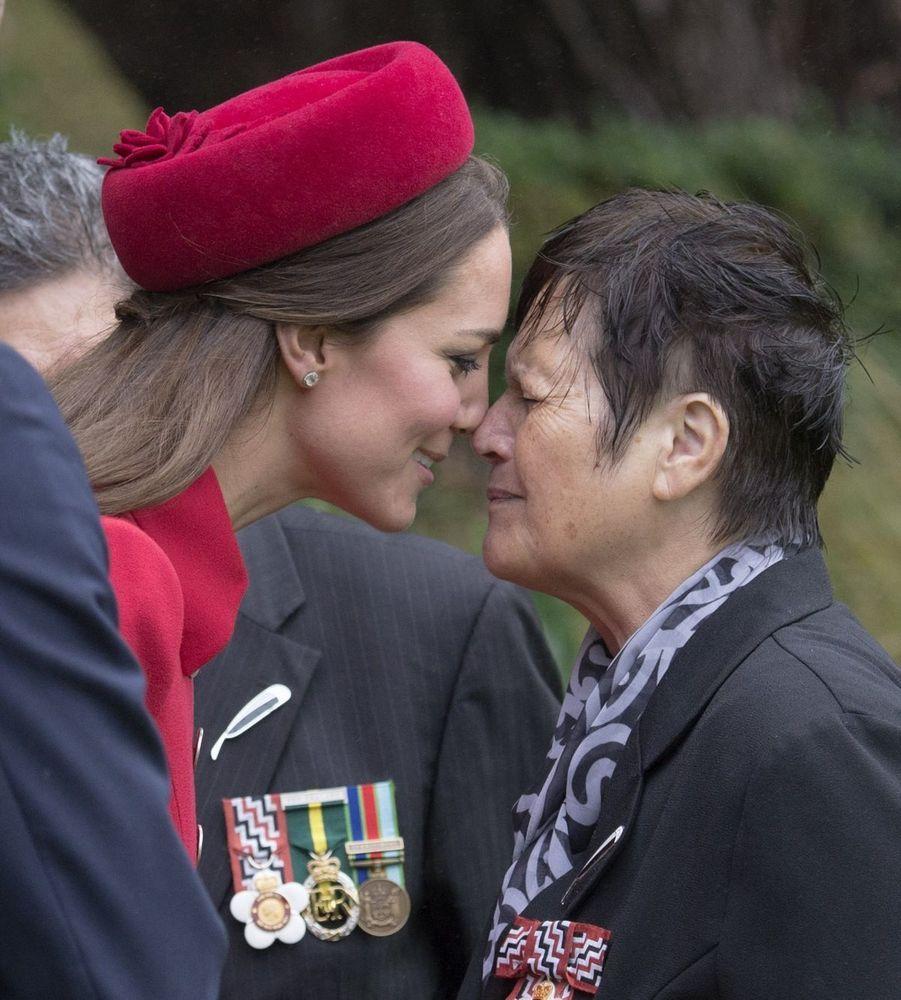 Kate et William au pays des Maoris