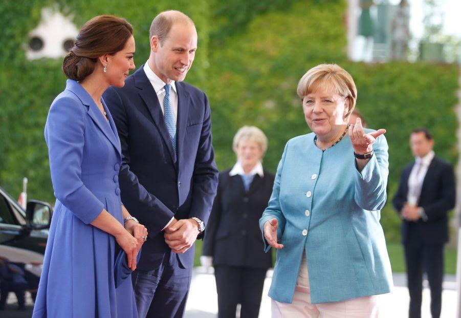 Kate Et William, Première Journée En Allemagne 1