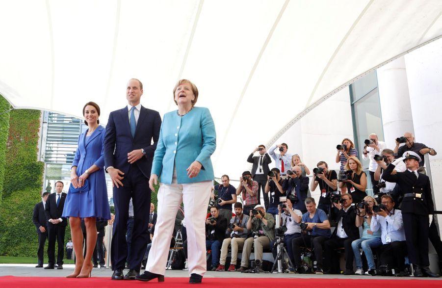 Kate Et William, Première Journée En Allemagne 2