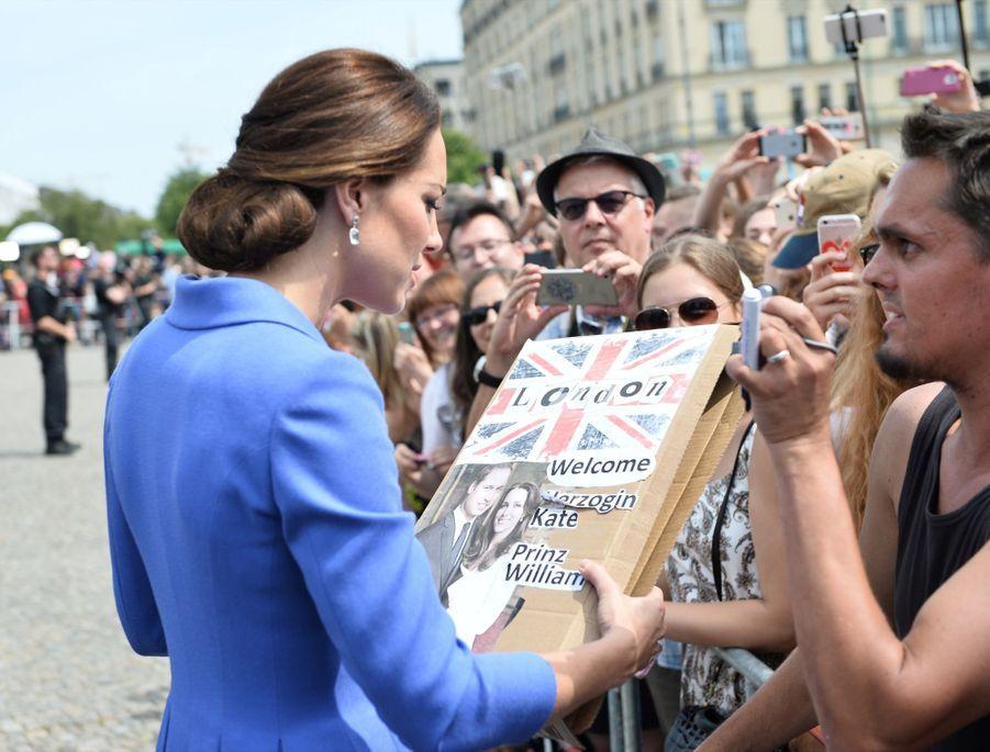 Kate Et William, Première Journée En Allemagne 28