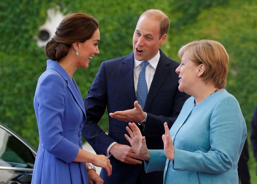 Kate Et William, Première Journée En Allemagne 3