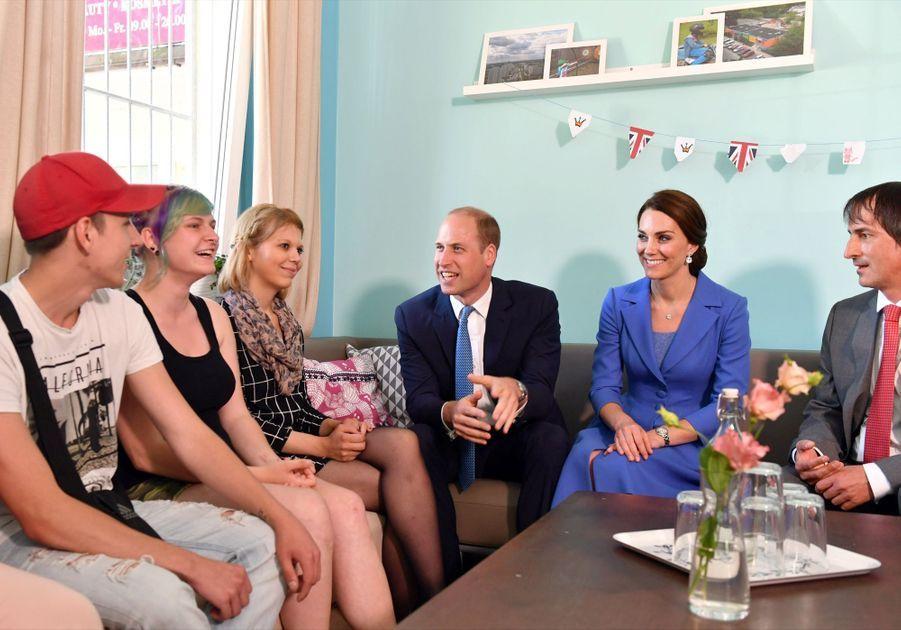 Kate Et William, Première Journée En Allemagne 33