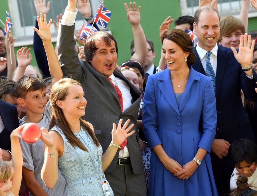 Kate Et William, Première Journée En Allemagne 36