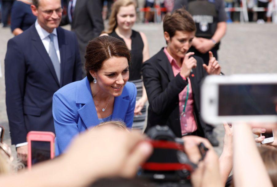 Kate Et William, Première Journée En Allemagne 39