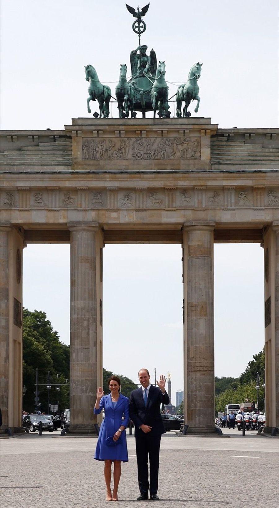 Kate Et William, Première Journée En Allemagne 46