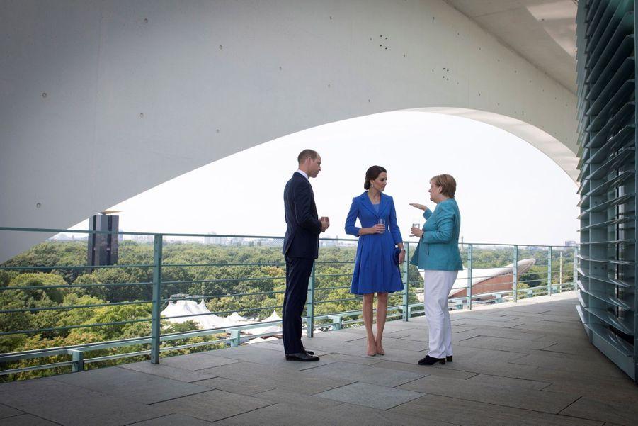 Kate Et William, Première Journée En Allemagne 8