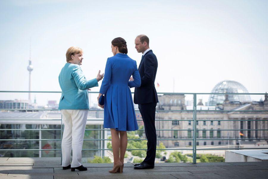 Kate Et William, Première Journée En Allemagne 9