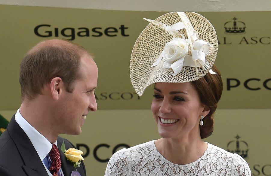 Kate Middleton et le prince William, le 15 juin 2016