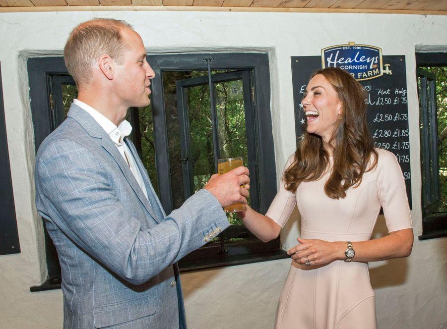 Kate Middleton et le prince William, le 1er septembre 2016