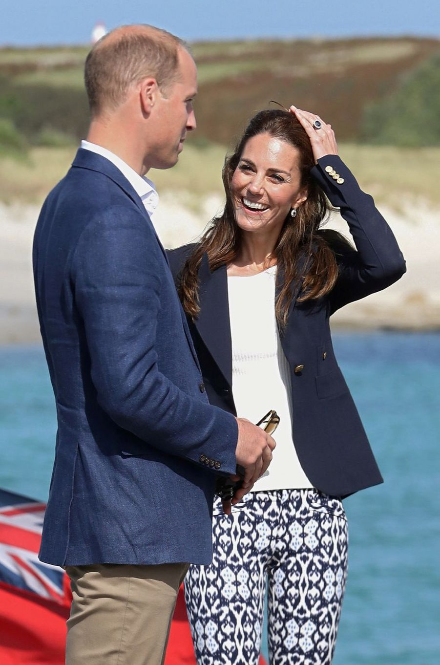 Kate Middleton et le prince William, le 2 septembre 2016