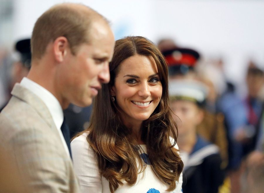Kate Middleton et le prince William, le 24 août 2016