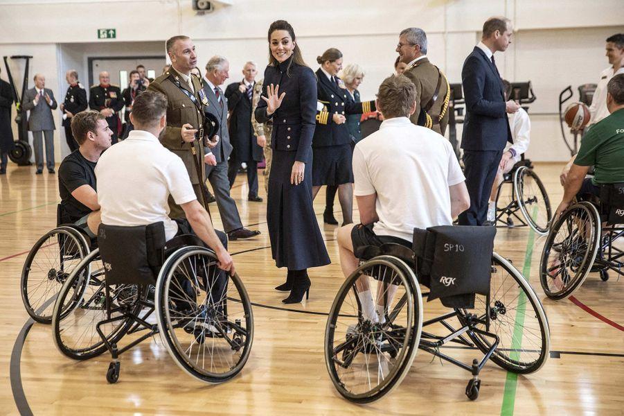 Kate MiddletonàLoughborough le 11 février 2020