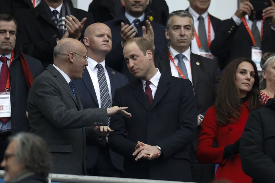Kate Middleton Et Le Prince William Au Stade De France Pour Le Match De Rugby France Pays De Galles 10