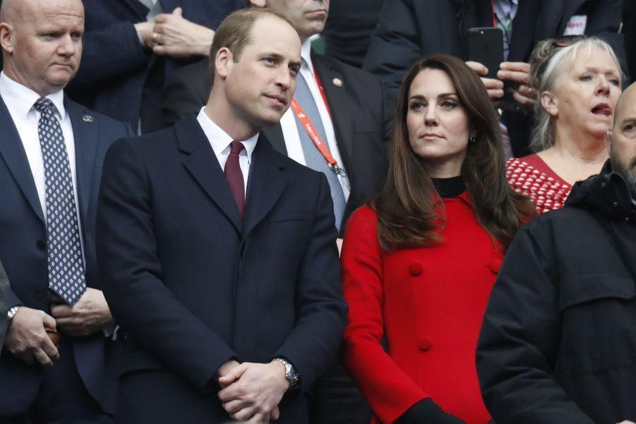 Kate Middleton Et Le Prince William Au Stade De France Pour Le Match De Rugby France Pays De Galles 15