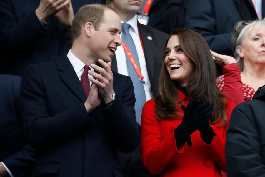 Kate Middleton Et Le Prince William Au Stade De France Pour Le Match De Rugby France Pays De Galles 17