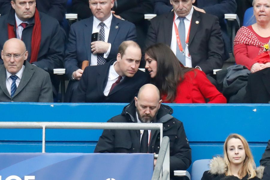 Kate Middleton Et Le Prince William Au Stade De France Pour Le Match De Rugby France Pays De Galles 19