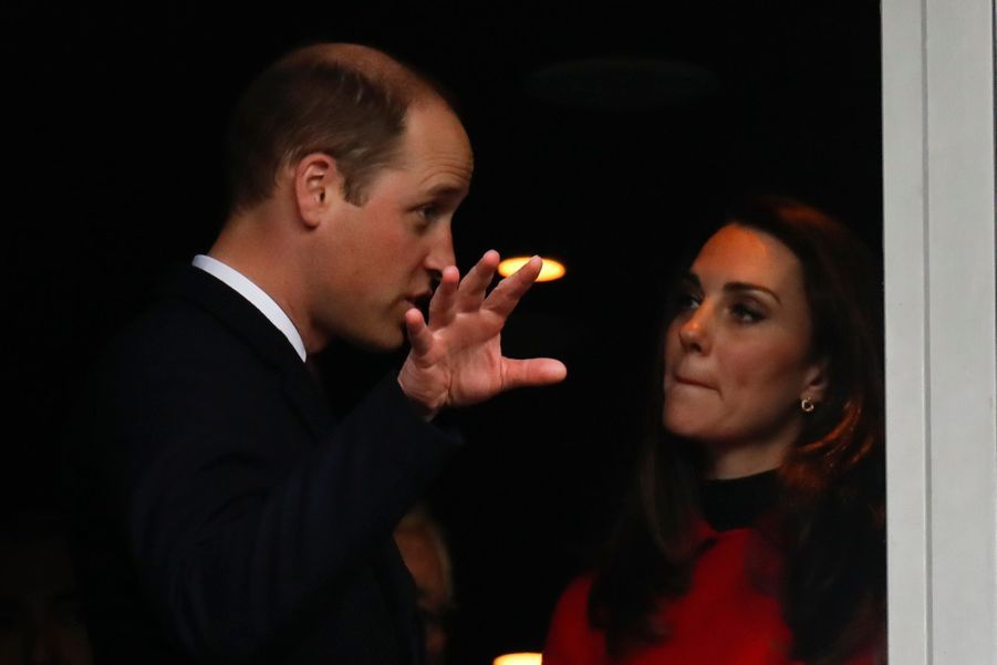Kate Middleton Et Le Prince William Au Stade De France Pour Le Match De Rugby France Pays De Galles 2