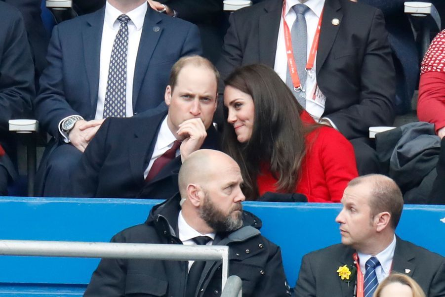 Kate Middleton Et Le Prince William Au Stade De France Pour Le Match De Rugby France Pays De Galles 20