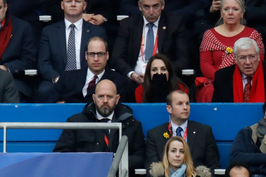 Kate Middleton Et Le Prince William Au Stade De France Pour Le Match De Rugby France Pays De Galles 21