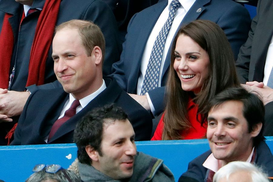 Kate Middleton Et Le Prince William Au Stade De France Pour Le Match De Rugby France Pays De Galles 22