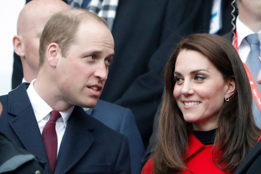Kate Middleton Et Le Prince William Au Stade De France Pour Le Match De Rugby France Pays De Galles 23